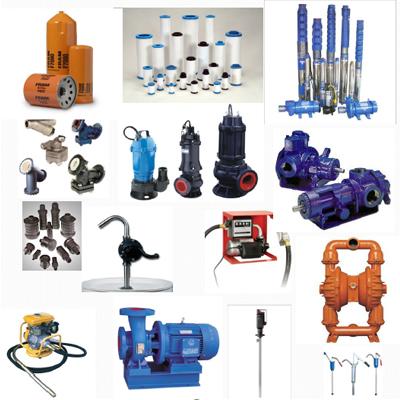 filtration pumps and vibration equipments