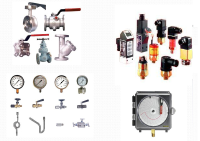 valves gauges and instrumentation