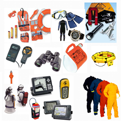 marine supplies and equipments